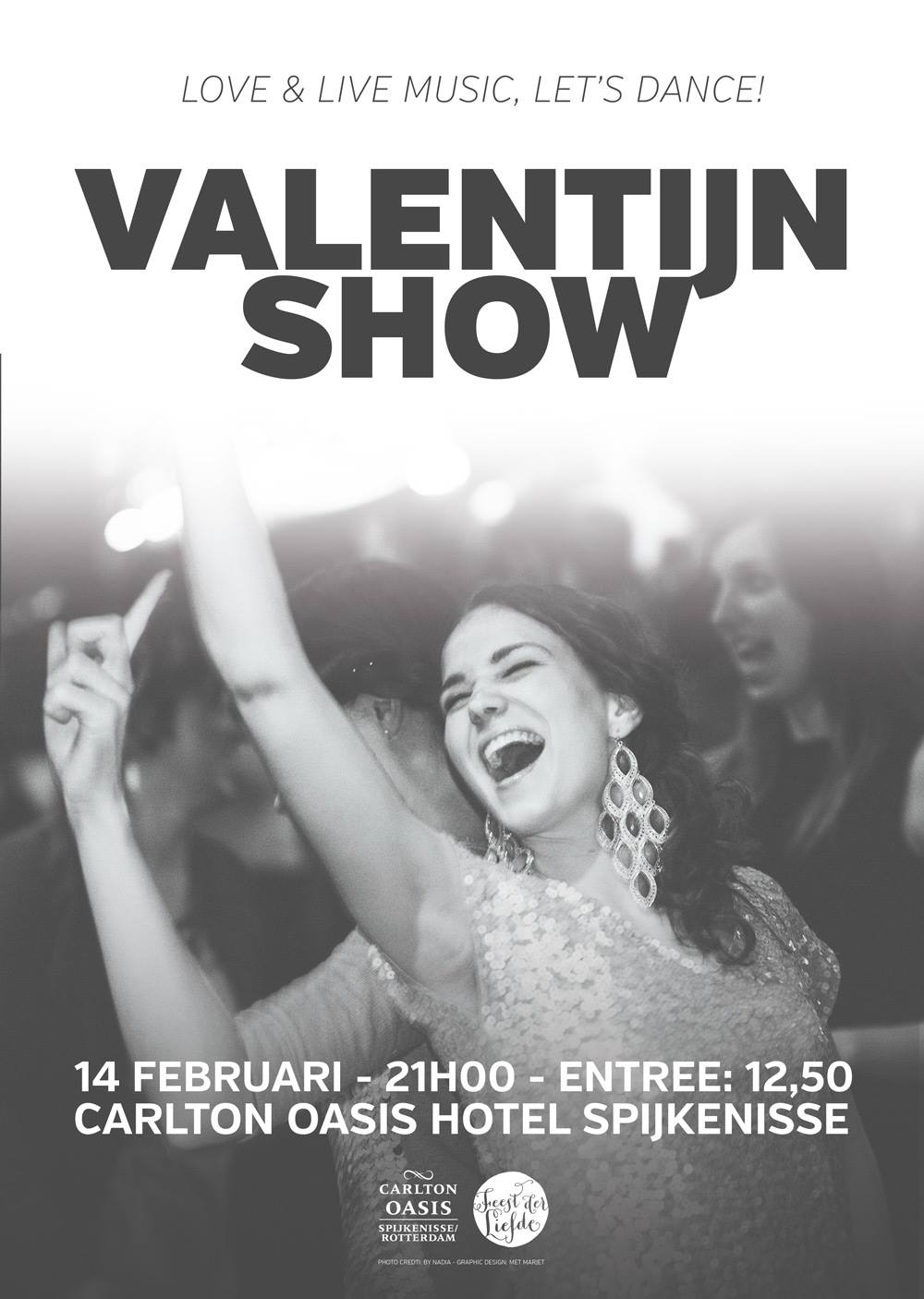Feest der Liefde Valentijn Show Editie 3 2015 Poster